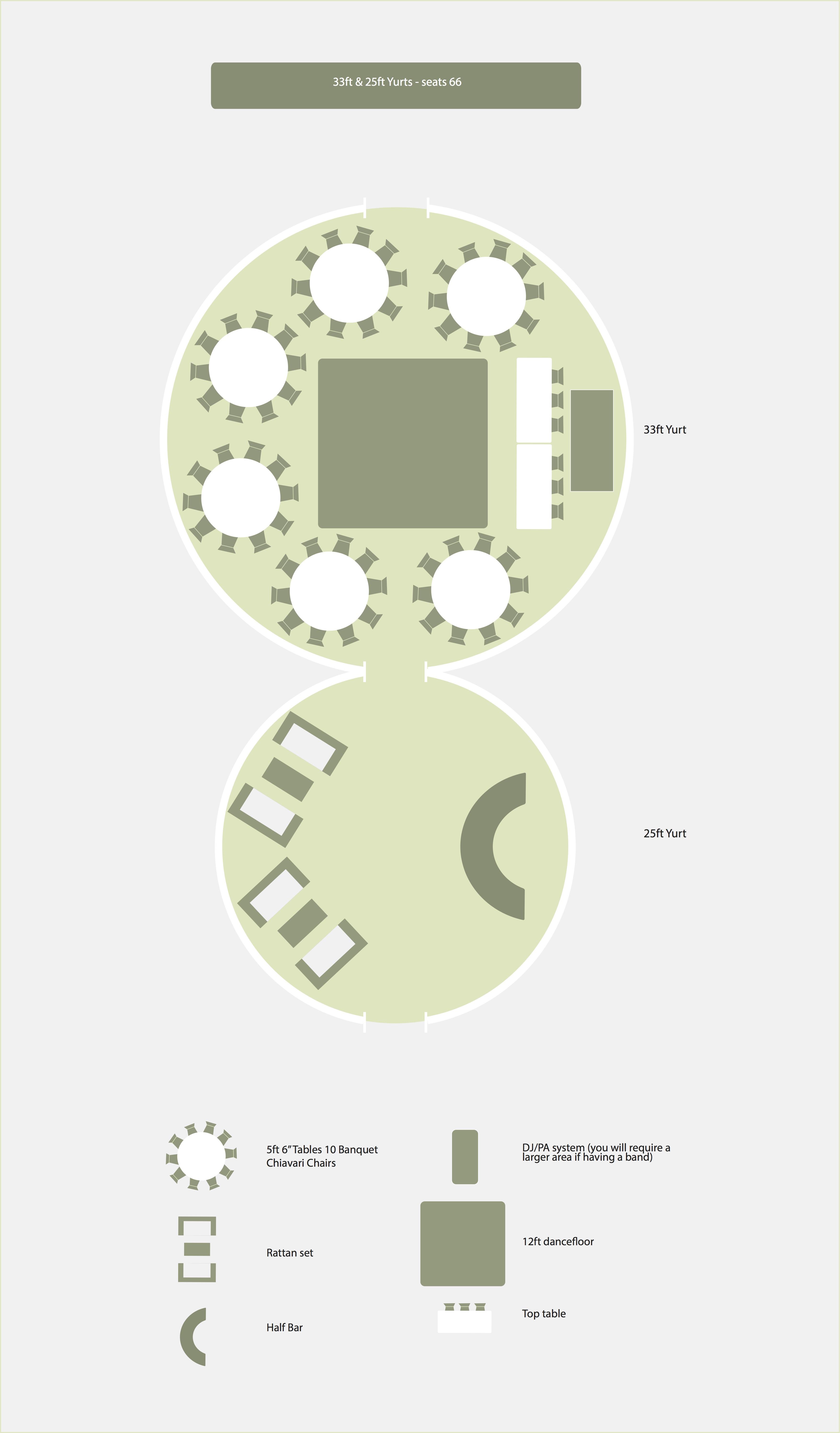 Round Table Seating Capacity 33ft Yurt Yorkshire Yurts Yorkshire Yurts