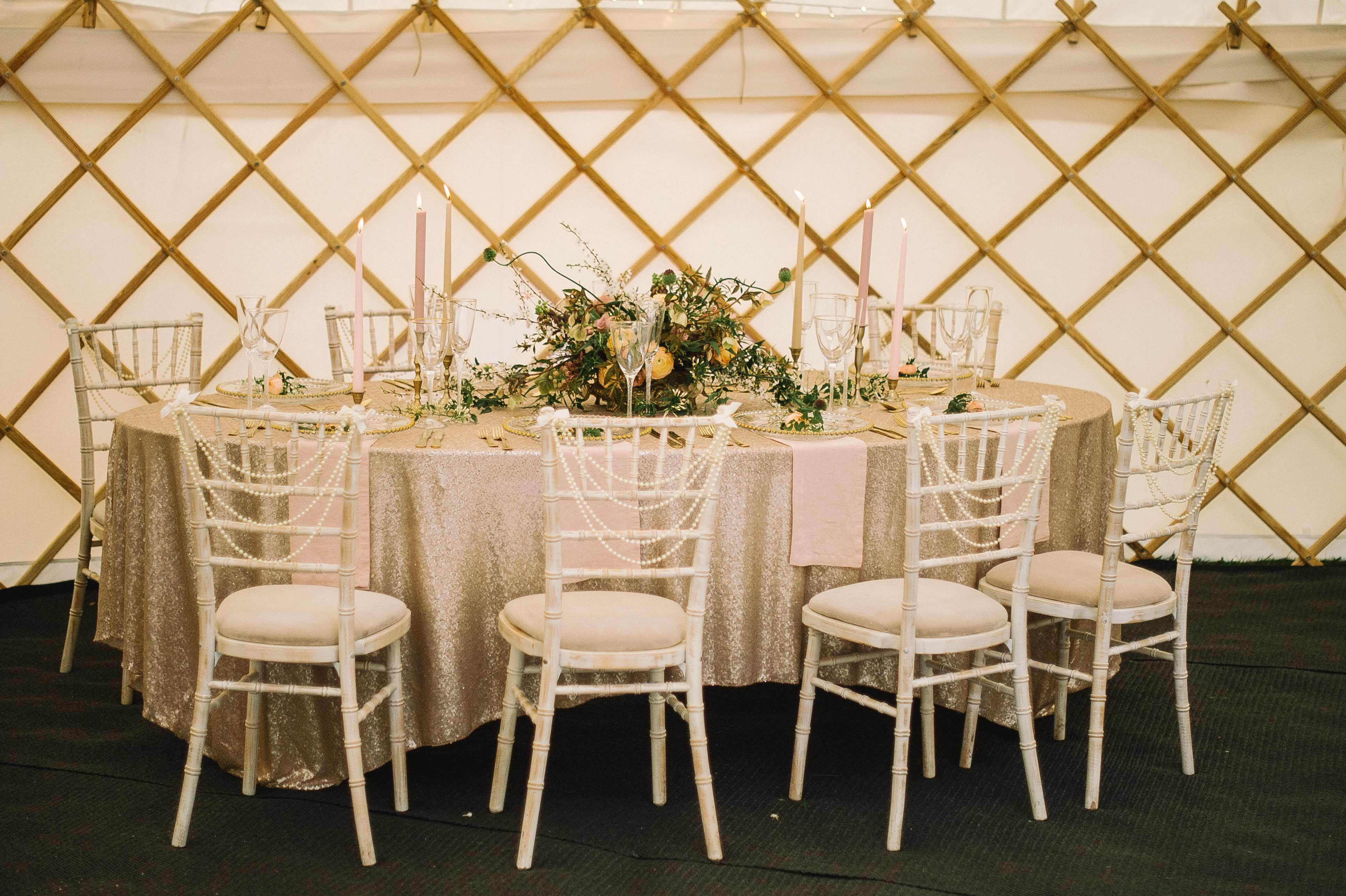 Tables Yorkshire Yurts