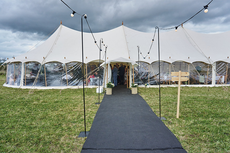 9x33m<br /> PETAL POLE MARQUEE