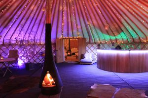 Combination-Yurts-33ft-&-25ft-yurts-party-at-night-internal-1