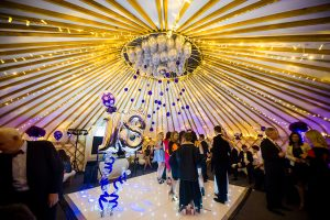 Yorkshire Yurts 18th-party-33ft-yurt White dancefloor