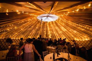 Yorkshire Yurts 33ft-fairy-light-canopy