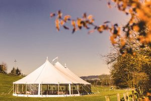 Yorkshire Yurts Celeste Marquee Wedding